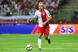 June 10, 2019 - Warsaw, Poland - Kamil Grosicki of Poland during the UEFA Euro 2020 qualifier Group G football match Poland against Israel on June 10, 2019 in Warsaw, Poland. (Credit Image: © Foto Olimpik/NurPhoto via ZUMA Press)