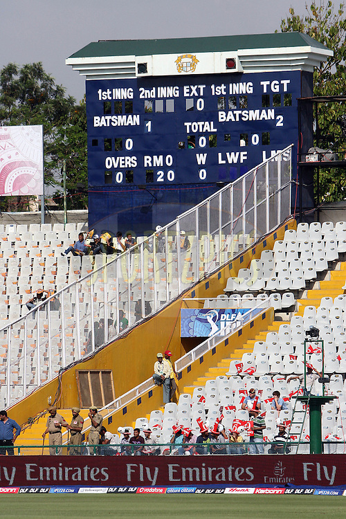 during match 9 of the Indian Premier League ( IPL ) Season 4 between the Kings XI Punjab and the Chennai Super Kings held at the PCA stadium in Mohali, Chandigarh, India on the 13th April 2011..Photo by Money Sharma/BCCI/SPORTZPICS