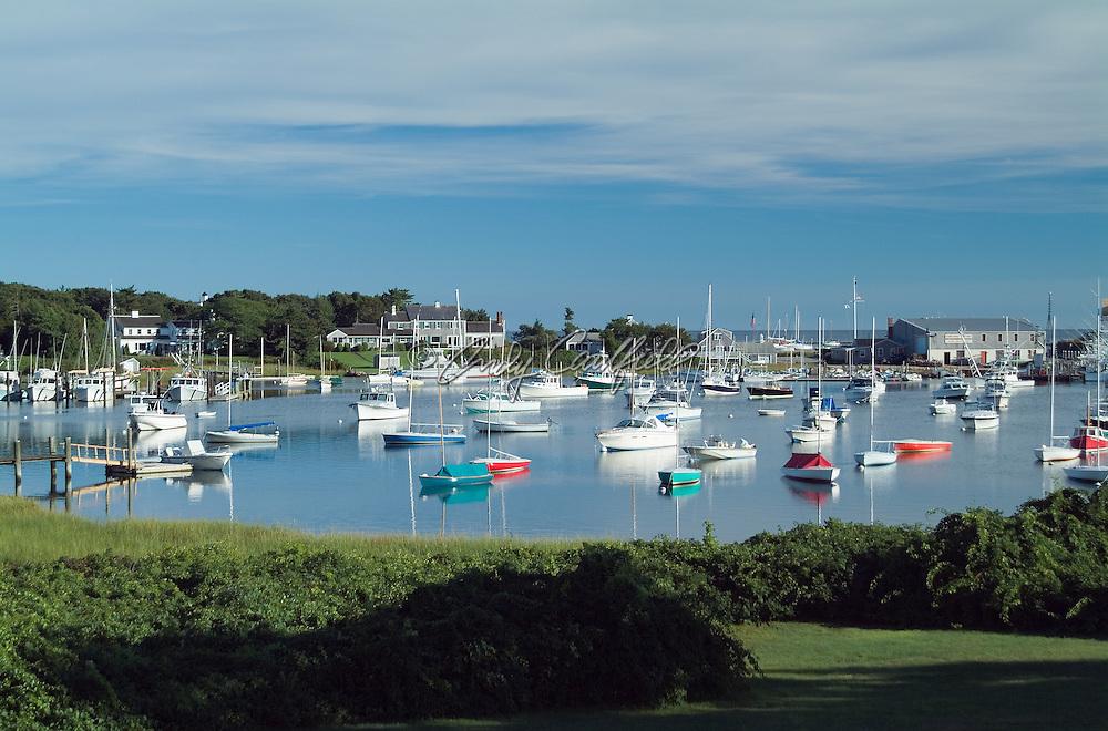 Harwichport harbor, Cape Cod, MA.
