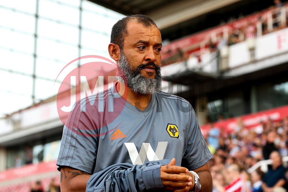Wolverhampton Wanderers manager Nuno - Mandatory by-line: Robbie Stephenson/JMP - 25/07/2018 - FOOTBALL - Bet365 Stadium - Stoke-on-Trent, England - Stoke City v Wolverhampton Wanderers - Pre-season friendly