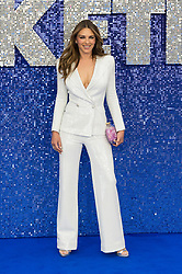 May 20, 2019 - London, England, United Kingdom - Elizabeth Hurley arrives for the UK film premiere of 'Rocketman' at Odeon Luxe, Leicester Square on 20 May, 2019 in London, England. (Credit Image: © Wiktor Szymanowicz/NurPhoto via ZUMA Press)