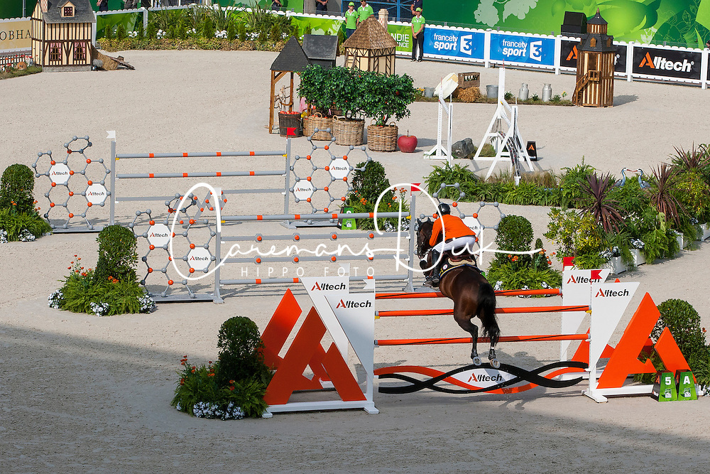 Jeroen Dubbeldam, (NED), Casall Ask - Show Jumping Final Four - Alltech FEI World Equestrian Games™ 2014 - Normandy, France.<br /> © Hippo Foto Team - Leanjo de Koster<br /> 07-09-14