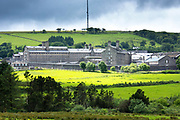 HM Prison Dartmoor a Category C men's top security prison in Princetown on Dartmoor in Devon county, England
