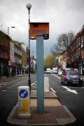 UK ENGLAND LONDON 1MAY12 - Speed camera on Upper Street in Islington, North London. ...jre/Photo by Jiri Rezac....© Jiri Rezac 2012