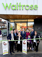 Opening of the new Waitrose store in Guildford, Surrey, UK.