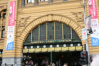 Flinders Street Station in Melbourne Australia