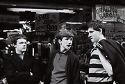 Teenagers, Berwick St, Soho, London, 1981