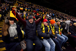 Watford fans in the stands