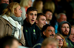 Huw Taylor of Worcester Warriors watches the Premiership Rugby 7s from the stands - Mandatory by-line: Robbie Stephenson/JMP - 28/07/2017 - RUGBY - Franklin's Gardens - Northampton, England - Wasps v Leicester Tigers - Singha Premiership Rugby 7s