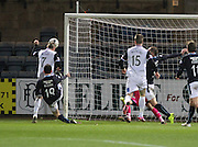 Billy Mckay scores Inverness equaliser - Dundee v Inverness Caledonian Thistle, SPFL Premiership at Dens Park <br /> <br />  - &copy; David Young - www.davidyoungphoto.co.uk - email: davidyoungphoto@gmail.com