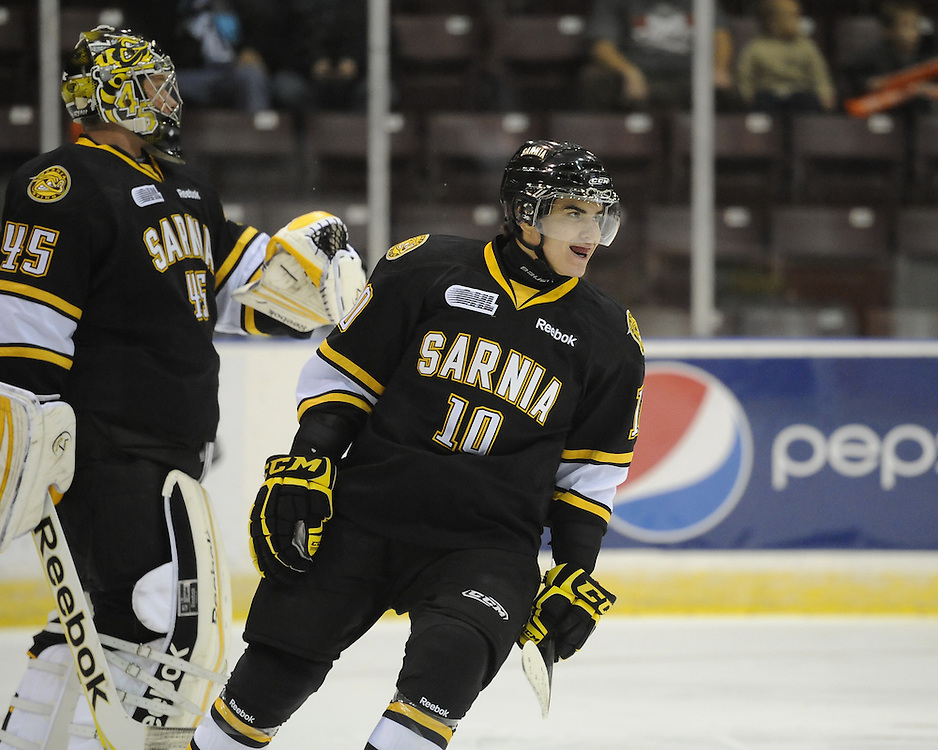 Nail Yakupov of the Sarnia Sting. Photo by Aaron Bell/OHL Images