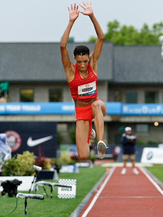 Women's Triple Jump, Sheena Gordon