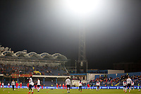 PODGORICA, MONTENEGRO - MARCH 25: England warms up before the 2020 UEFA European Championships group A qualifying match between Montenegro and England at Podgorica City Stadium on March 25, 2019 in Podgorica, Montenegro. (MB Media)