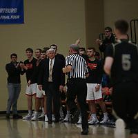 Men's Basketball: Wartburg College Knights vs. Nebraska Wesleyan University Prairie Wolves