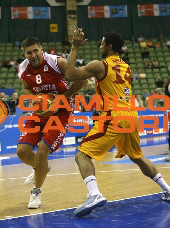 DESCRIZIONE : Poznan Poland Polonia Eurobasket Men 2009 Preliminary Round  Croazia Macedonia Croatia F.Y.R. of Macedonia<br /> GIOCATORE : Nikola Prkacin<br /> SQUADRA : Croazia Croatia<br /> EVENTO : Eurobasket Men 2009<br /> GARA : Croazia Macedonia Croatia F.Y.R. of Macedonia<br /> DATA : 09/09/2009 <br /> CATEGORIA : Penetrazione<br /> SPORT : Pallacanestro <br /> AUTORE : Agenzia Ciamillo-Castoria/A.Vlachos<br /> Galleria : Eurobasket Men 2009 <br /> Fotonotizia : Poznan Poland Polonia Eurobasket Men 2009 Preliminary Round Croazia Macedonia Croatia F.Y.R. of Macedonia<br /> Predefinita :