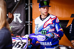 Romain Febvre #461 of France during MXGP Trentino Qualifying Race, round 5 for MXGP Championship in Pietramurata, Italy on 15th of April, 2017 in Italy. Photo by Grega Valancic / Sportida