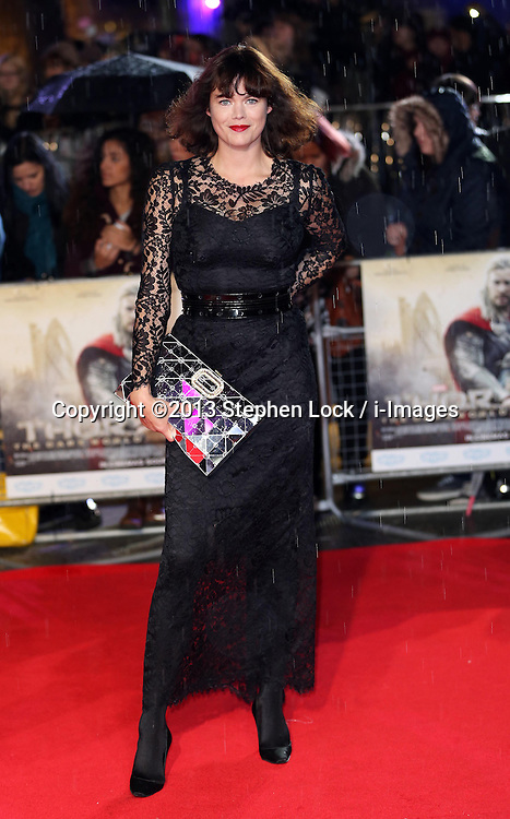Jasmine Guiness arriving for the premiere of Thor: The Dark World, in London, Tuesday, 22nd October 2013. Picture by Stephen Lock / i-Images