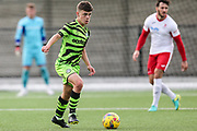 Joe Jeremiah during the Pre-Season Friendly match between Cirencester Academy and Forest Green Rovers at Cotswold Academy, Cirencester, United Kingdom on 30 July 2019.