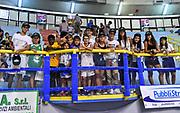 Tifosi, Pubblico, Spettatori,<br /> Banco di Sardegna Dinamo Sassari - Hapoel Jerusalem<br /> 9° International Basketball Tournament City of Cagliari<br /> Cagliari, 15/09/2019<br /> Foto L.Canu / Ciamillo-Castoria