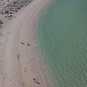 Aerial view of Balandra Bay. La Paz, BCS.