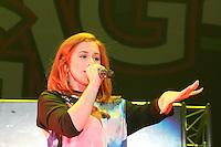 Katy B, Girlguiding BIG GIG, Wembley Arena, London UK, 12 October 2013, Photo by Richard Goldschmidt