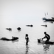OLYMPUS DIGITAL CAMERA Ganges river in Varanasi