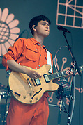 Vampire Weekend live at the Glastonbury Festival 2019