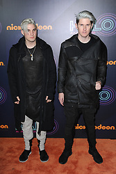 November 12, 2016 - New York, NY, USA - November 11, 2016  New York City..Grey attending the 2016 Nickelodeon HALO awards at Basketball City Pier 36  South Street on November 11, 2016 in New York City. (Credit Image: © Callahan/Ace Pictures via ZUMA Press)