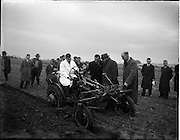 005/01/1956.01/05/1956.05 January 1956.David Brown Tractors Ltd. Demonstration of new 2D Tractor at Blakes Cross in J. Daly's field.