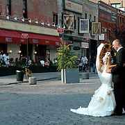 Wedding Day photo shoot in Meatpacking District