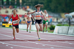 HAHN Sophie, GBR, 200m, T38, 2013 IPC Athletics World Championships, Lyon, France
