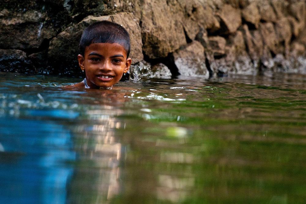 Kerala back waters in Alleppey