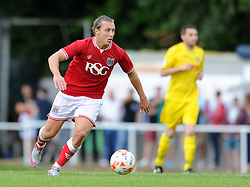 Luke Freeman of Bristol City - Photo mandatory by-line: Dougie Allward/JMP - Mobile: 07966 386802 - 05/07/2015 - SPORT - Football - Bristol - Brislington Stadium - Pre-Season Friendly