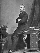 Charles Stuart Parnell, 19th century Irish politician, c1874-1891. Parnell (1846-1891) was a supporter of the Irish Land League, which campaigned for land reform and against the administration of estates in Ireland by absentee landlords.