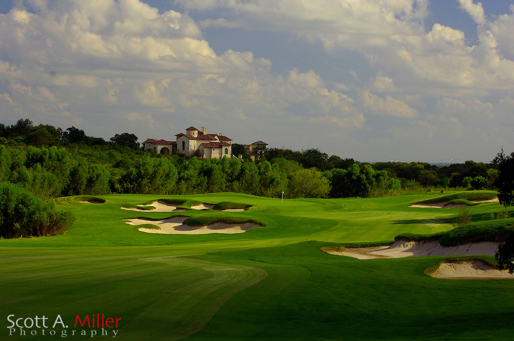 September 7, 2007, San Antonio, Texas; Hole No. 11 at the Briggs Ranch Golf CLub...                ©2007 Scott A. Miller