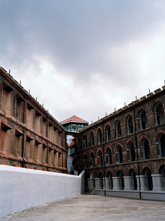 Cellular Prison where Indian independence fighters were held, Port Blair