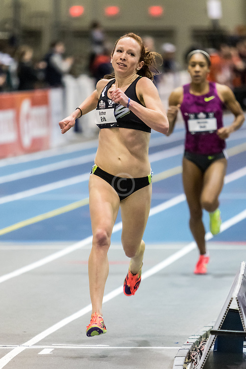 USATF Indoor Track & Field Championships: womens two mile, Esther Erb, NYAC