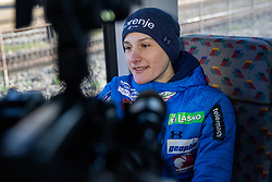Domen Prevc during  press conference of Ski jumping Planica 2019, on March 20, 2019, in Slovenian railways, Slovenia. Photo by Matic Ritonja / Sportida
