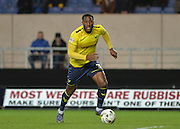 Oxford United Defender Cheyenne Dunkley during the Sky Bet League 2 match between Oxford United and York City at the Kassam Stadium, Oxford, England on 1 March 2016. Photo by Adam Rivers.