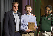 F. Theodore Paige Outstanding Graduating Senior Award: Stephen Toth, Fritz J. and Dolores H. Russ College of Engineering and Technology Student Awards Banquet April 10, 2016. (Photo by Emily Matthews)