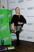"""Sarah Michelle Gellar joins Swiffer as program ambassador for its """"Yes to the Mess"""" event, Wednesday, Feb. 3, 2016, in New York, where kids were encouraged to take part in messy activities because with Swiffer you can get a thorough clean in minutes. (Photo by Diane Bondareff/Invision for Swiffer/AP Images)"""