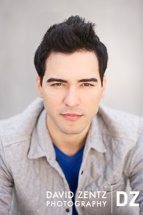 Los Angeles Actor Headshot. Shot on location in Venice Beach.