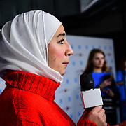 Maya Ghazal Arrives at 2020 WE Day UK at Wembley Arena, London, Uk 4 March 2020.