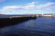 Harbour on the River Tay, Broughty Ferry, near Dundee, Scotland