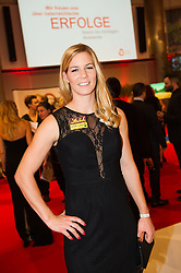 29.10.2015, Austria Center Vienna, Wien, AUT, Lotterien-Gala, Nacht des Sports 2015, im Bild Beate Schrott // Austrian hurdler Beate Schrott during Lotterien galanight of sports 2015 at Austria Center in Vienna on 2015/10/29, EXPA Pictures © 2015 PhotoCredit: EXPA/ Michael Gruber