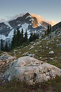 North Face of Whatcom Peak, North Cascades National Park