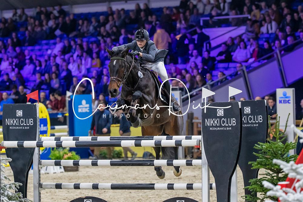 Van Gorp Marthe, BEL, Honore van't Valleihof<br /> Jumping Mechelen 2019<br /> © FEI/Dirk Caremans<br />  30/12/2019