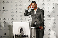 Lisbon: Ronaldo at the Inauguration of CR7 Pestana Hotel on Commerce Street, 2 October 2016