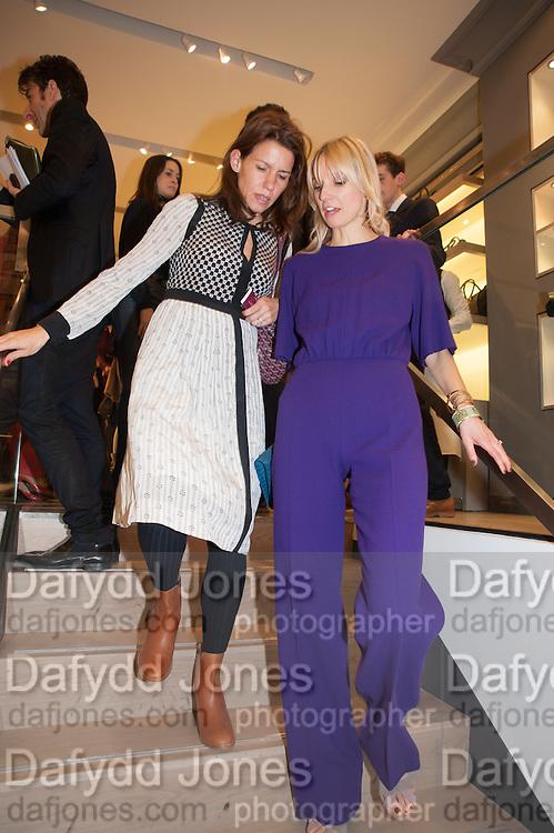 CALGARY AVANSINO; , Smythson Sloane St. Store opening. London. 6 February 2012.