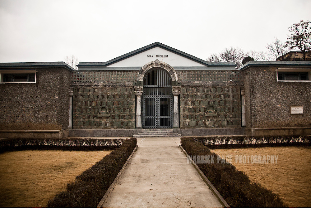 The barred entrance to the Swat Museum is seen in the Swat Valley, on February 11, 2011, in Mingora, Pakistan. The museum has been closed since fighting began between the Tailban and Pakistan Army in 2007. All artifacts were moved in covertly by the museum's director in November 2008 to the Taxila Museum. The Pakistan Army now occupies the museum grounds and surrounding buildings. The Kingdom of Gandhara lasted from early 1st millennium BC to the 11th century AD, and was located in northern Pakistan and eastern Afghanistan. The Kingdom of Gandhara lasted from early 1st millennium BC to the 11th century AD, and was located in northern Pakistan and eastern Afghanistan. (Photo by Warrick Page)